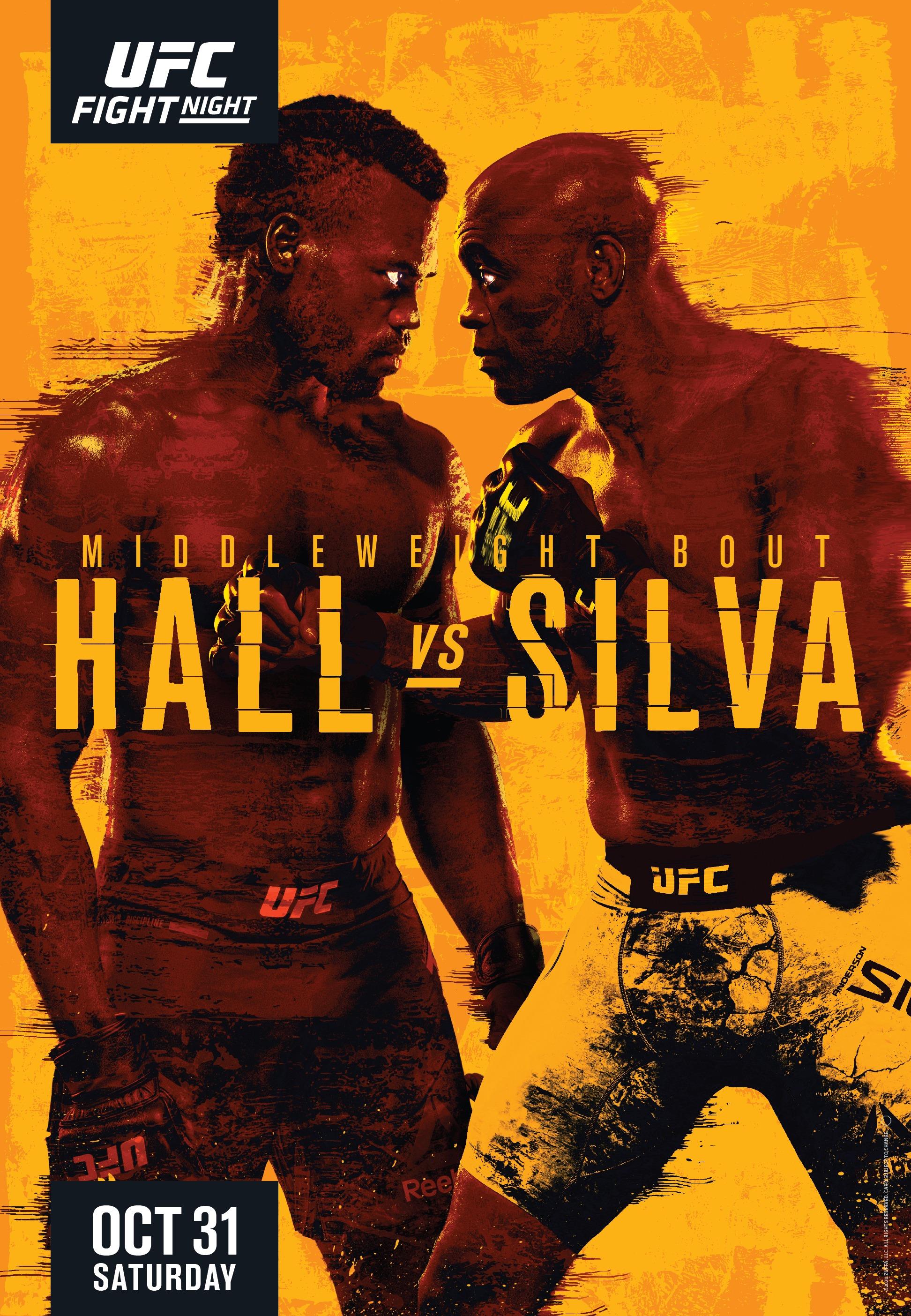 promo : Uriah Hall versus Anderson Silva at UFC Fight Night