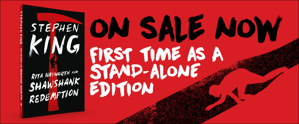 promo : the stand-alone edition of Stephen King's Shawshank Redemption novella