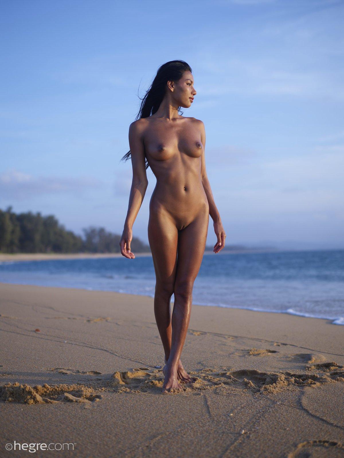 a Laotian girl named Chloe posing nude