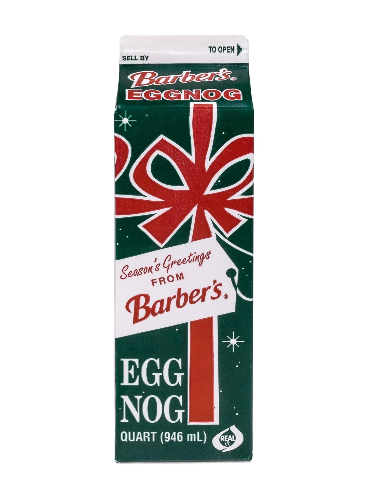 Barber's Eggnog