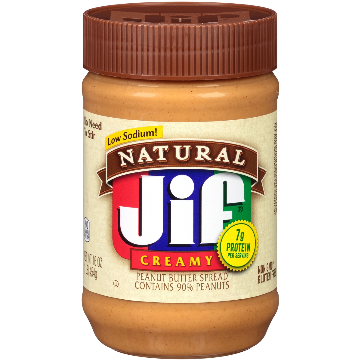 Natural Jif Peanut Butter Spread : Creamy