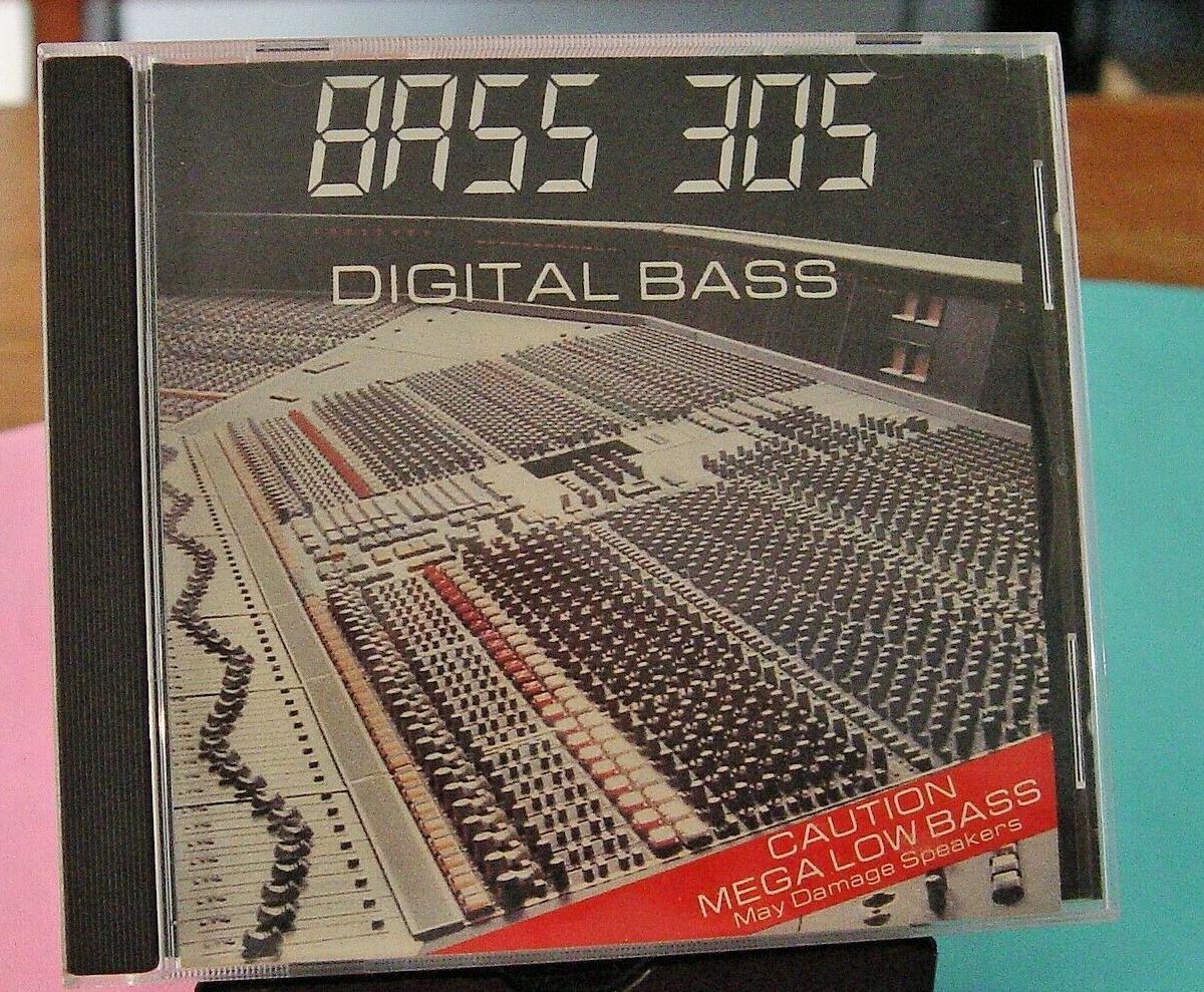 Bass 305's Digital Bass album on CD