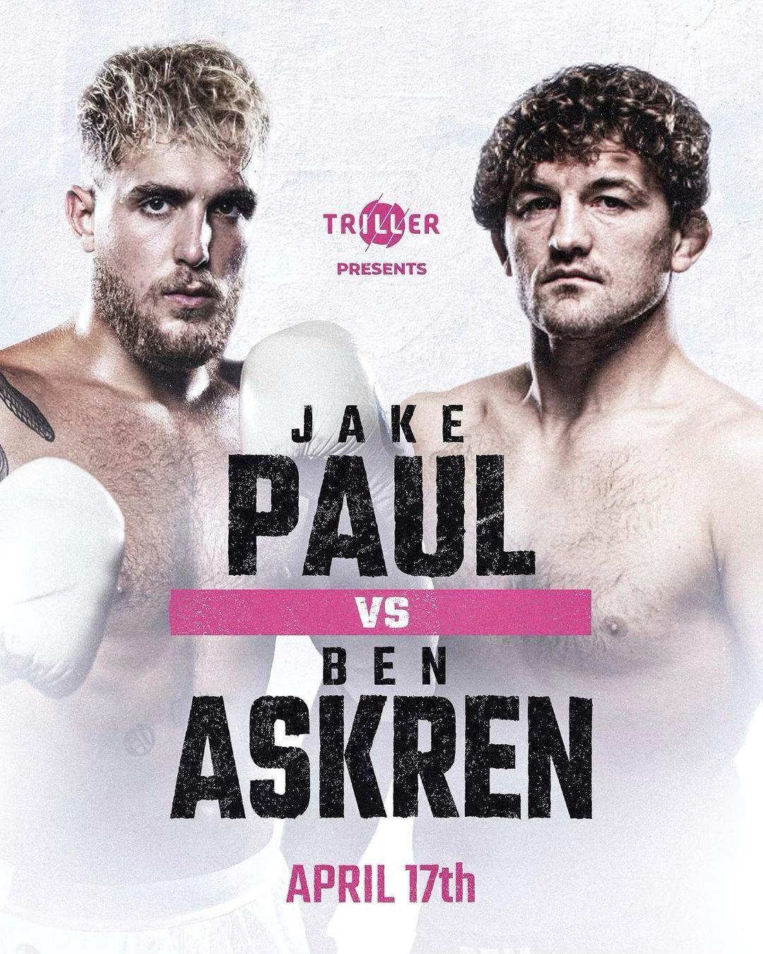 promo : Jake Paul Versus Ben Askren