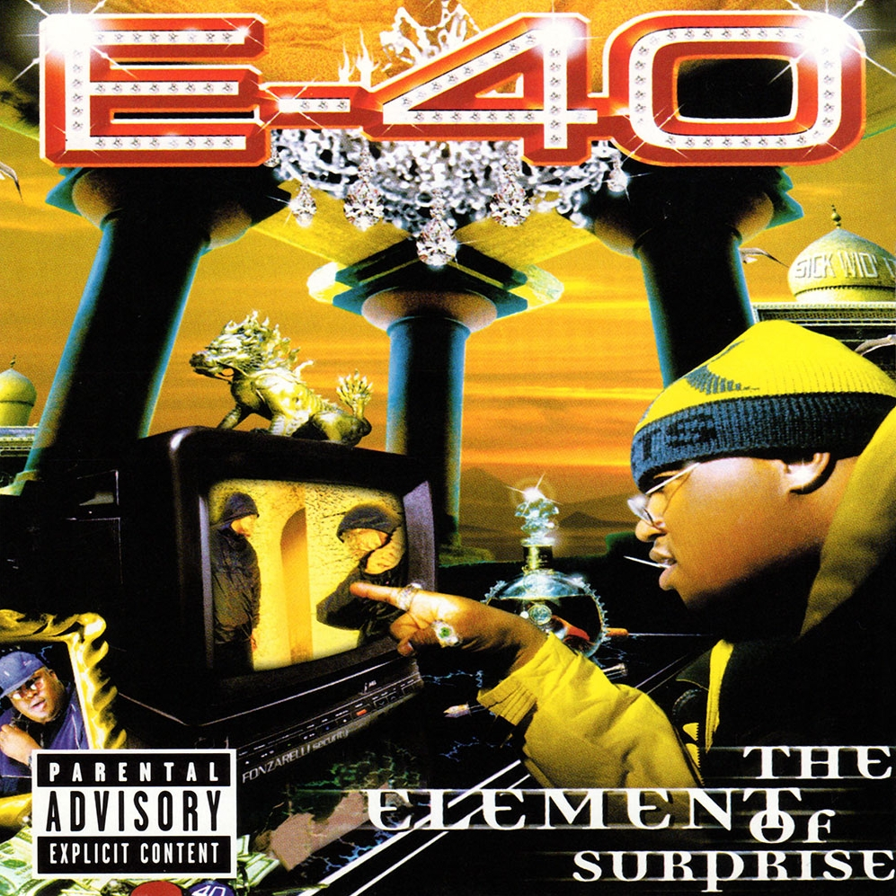 audio review : The Element Of Surprise ( album ) ... E-40