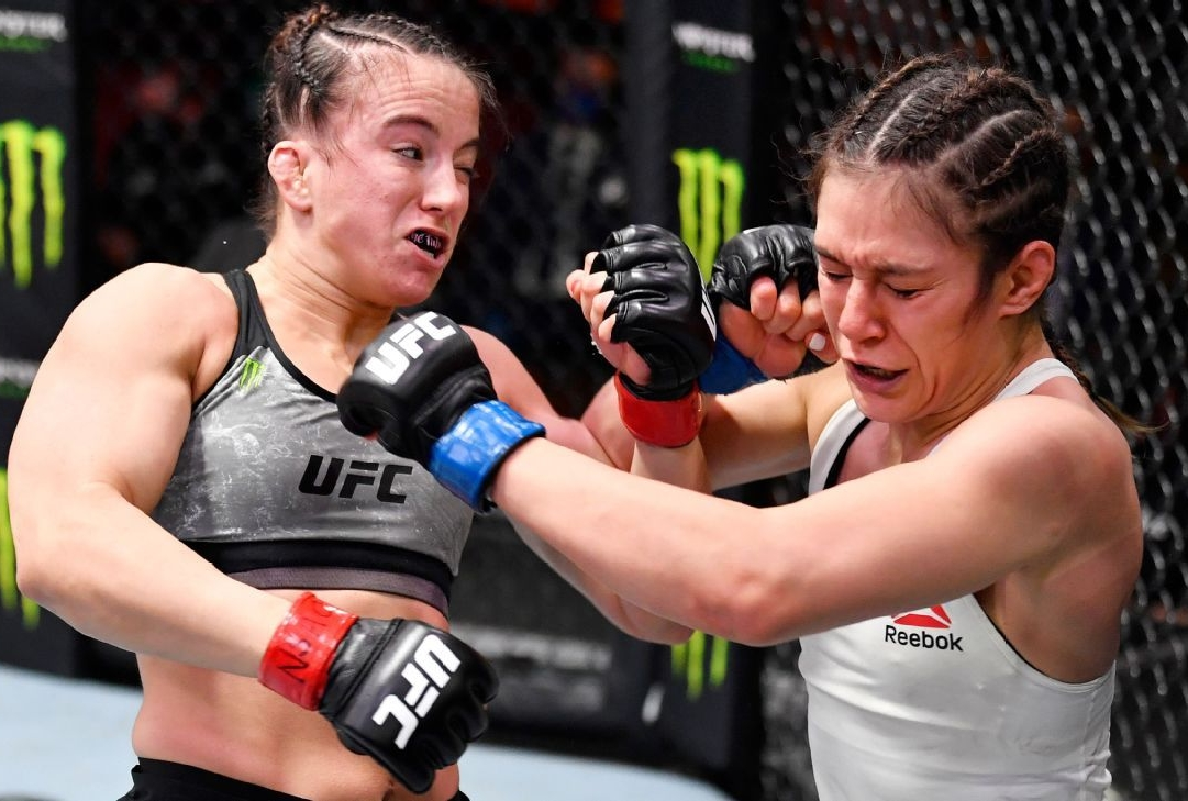video review : Maycee Barber versus Alexa Grasso at UFC 258