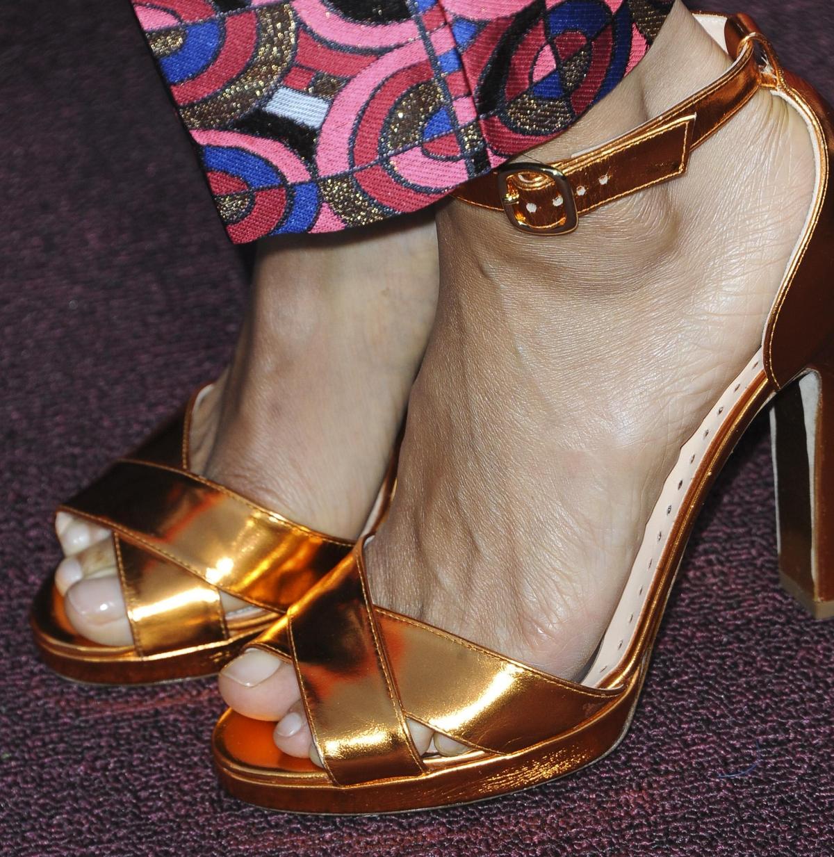 Thandie Newton's feet