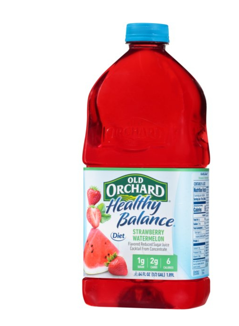 Old Orchard Healthy Balance : Strawberry Watermelon