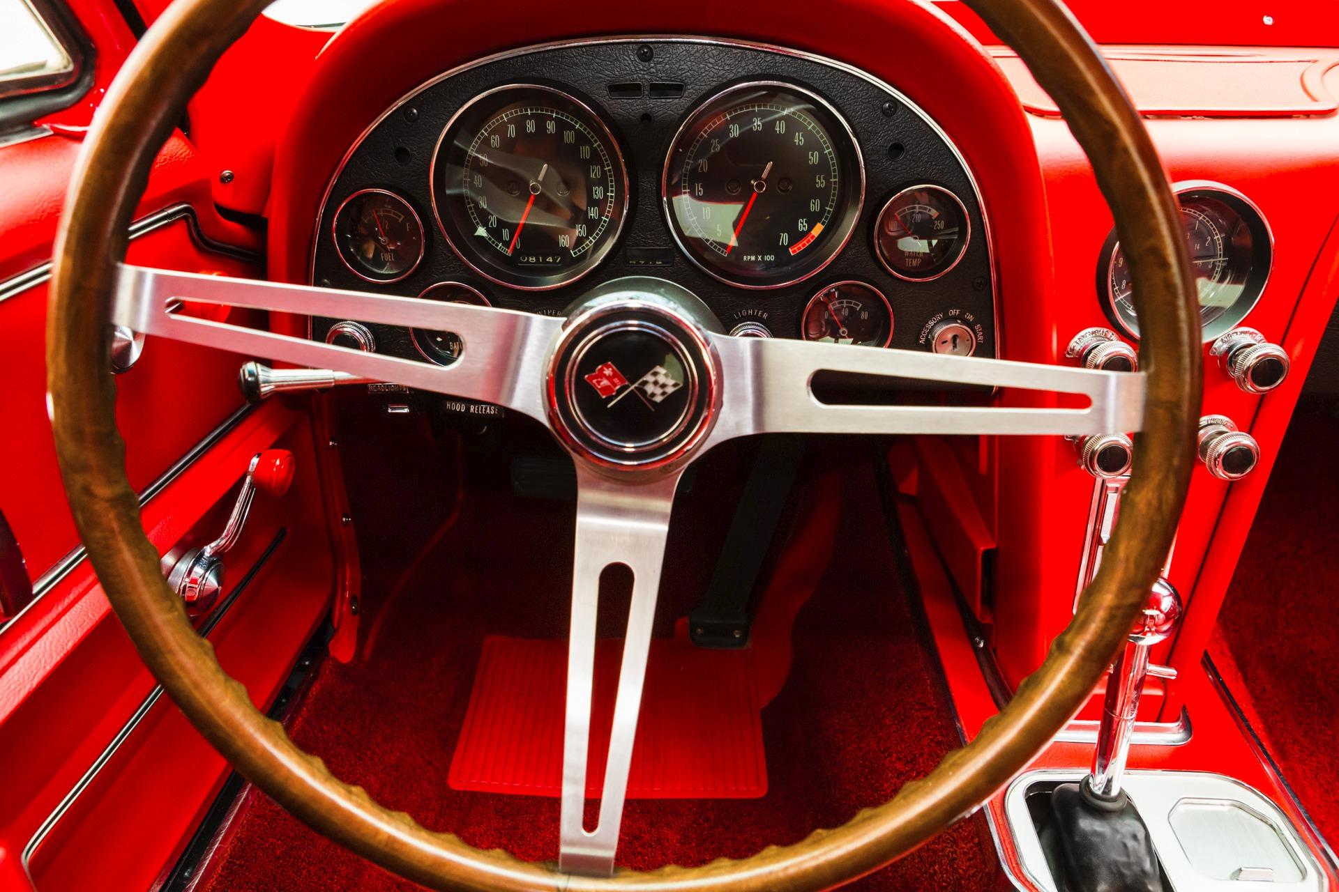 a 1967 Chevrolet Corvette