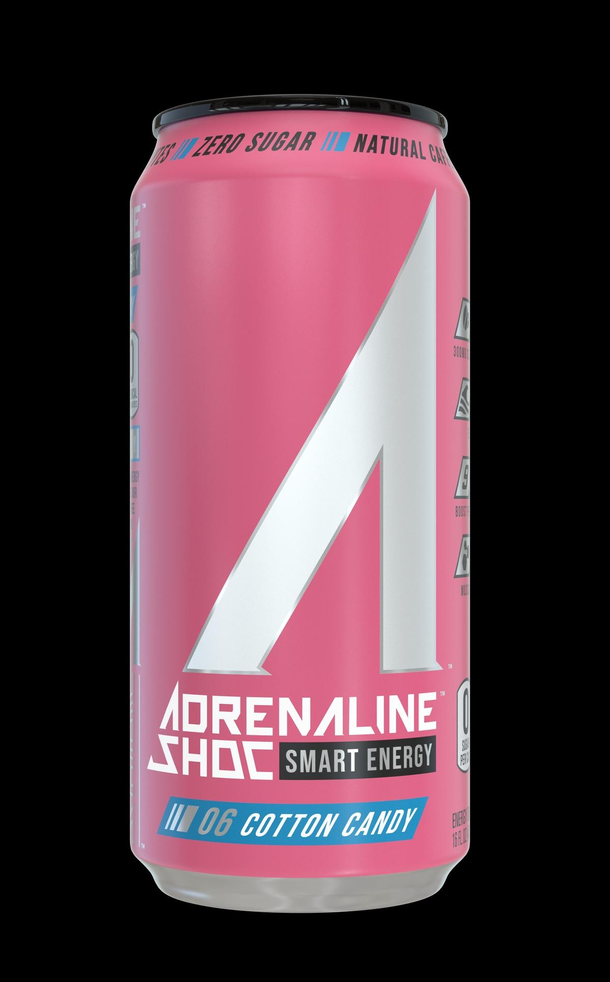 Adrenaline Shoc [ Smart Energy ] : Cotton Candy