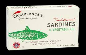 Casablanca's Greatest Catch [ Traditional Sardines In Vegetable Oil ]