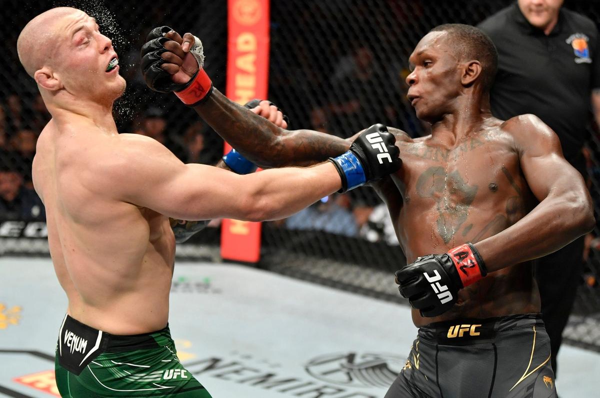video review : Israel Adesanya versus Marvin Vettori at UFC 263
