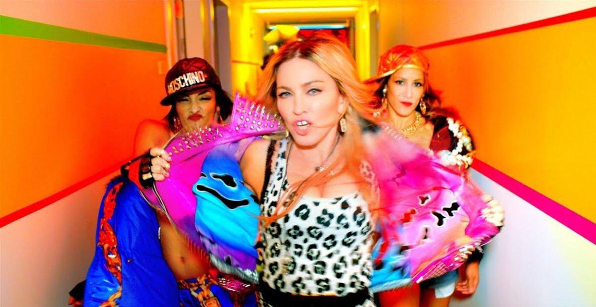 video review : Bitch I'm Madonna ( song ) ... Madonna ( featuring Nicki Minaj )