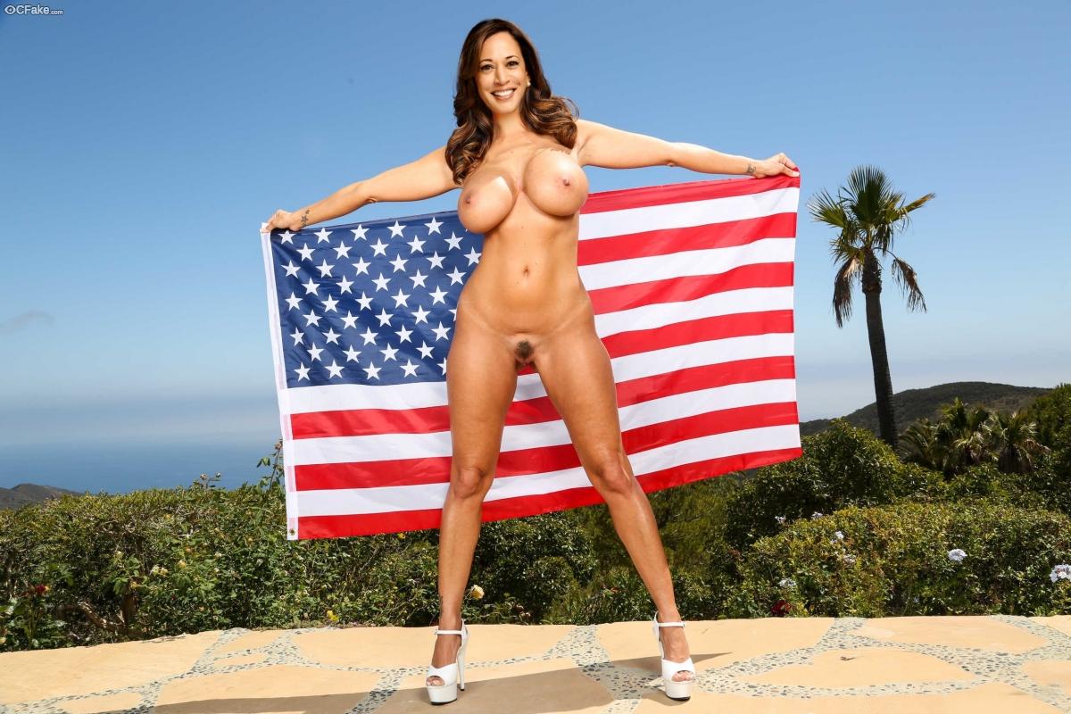 fake photo : Kamala Harris posing nude