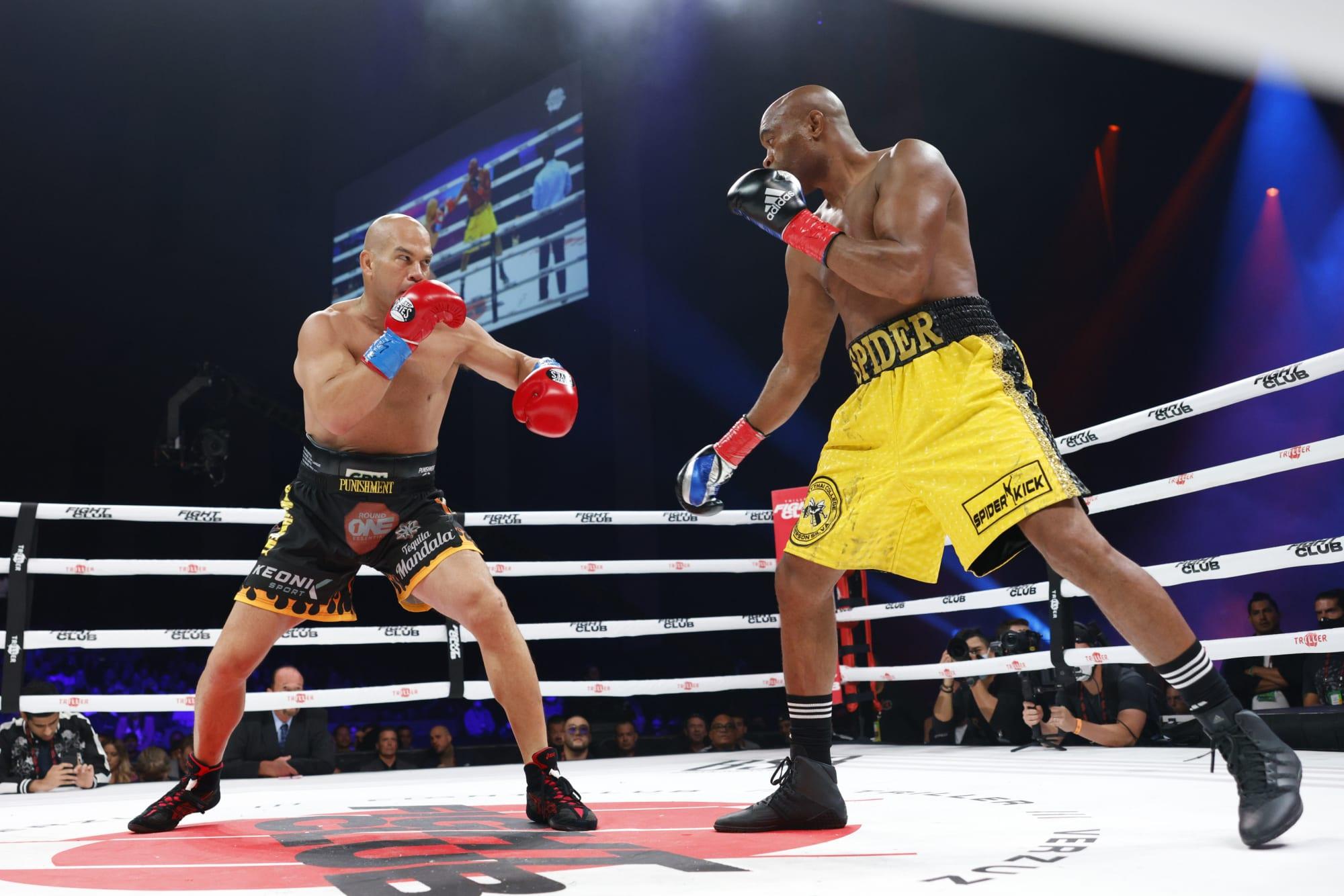 video review : Anderson Silva versus Tito Ortiz at Triller Fight Night