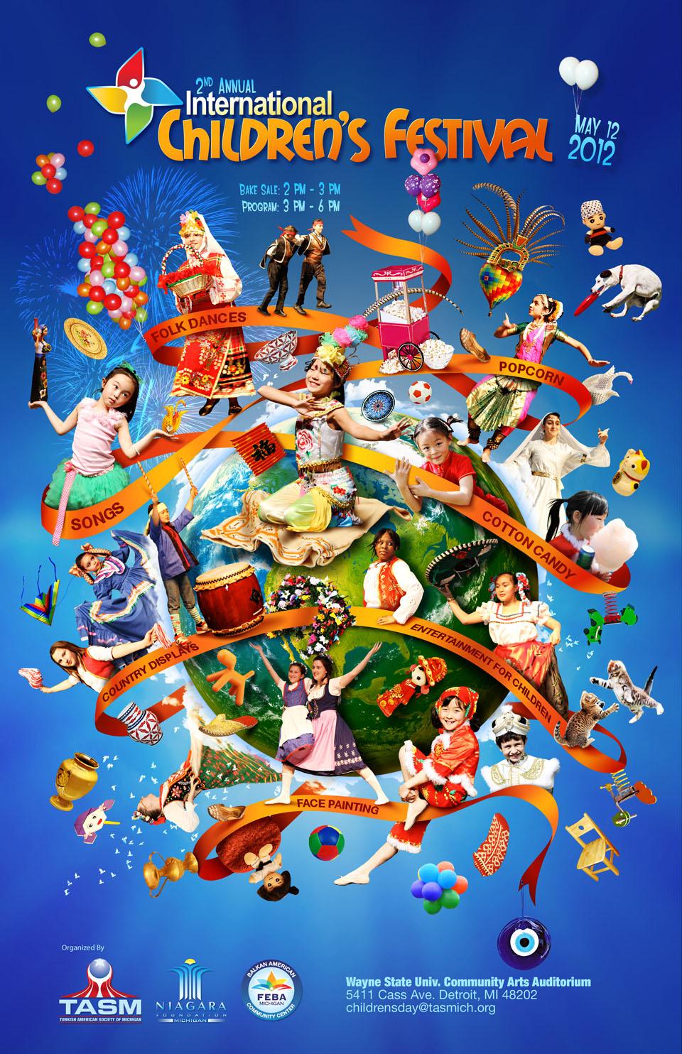 promo : The Second Annual International Children's Festival