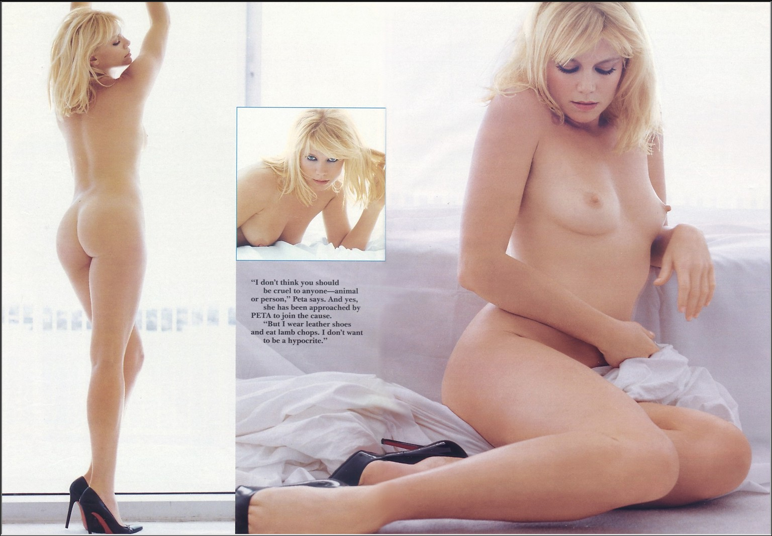 Peta Wilson in Playboy Magazine
