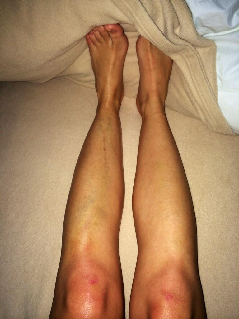 CeCe Frey's legs