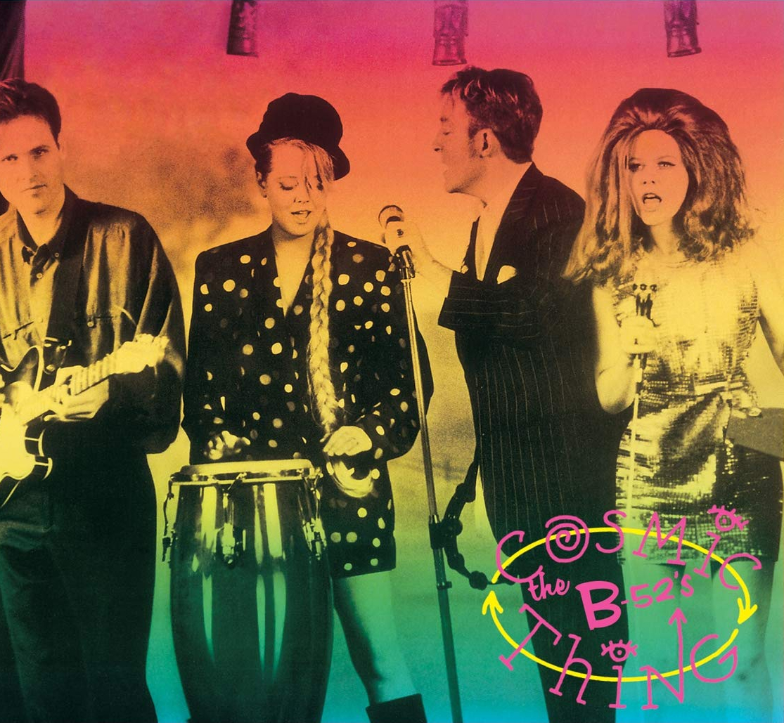 audio review : Cosmic Thing ( album ) ... The B-52s