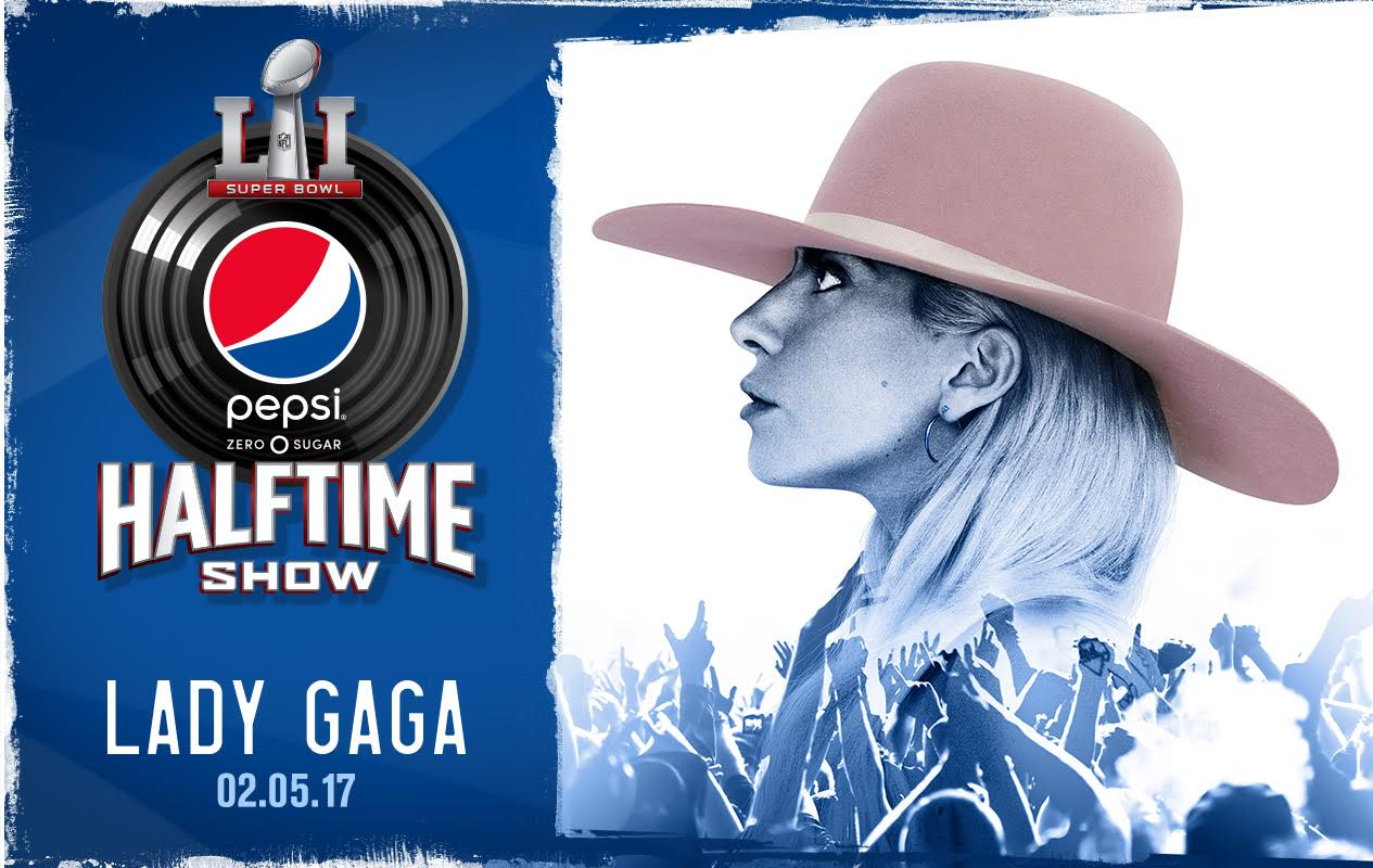promo : Lady Gaga performing the Halftime Show at Super Bowl 51