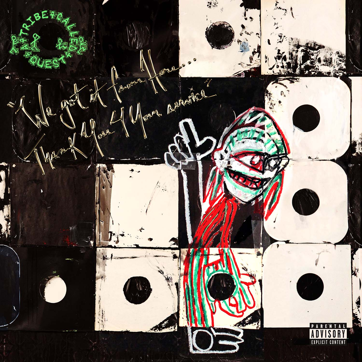 audio review : We Got It From Here [ Thank You 4 Your Service ] ( album ) ... A Tribe Called Quest