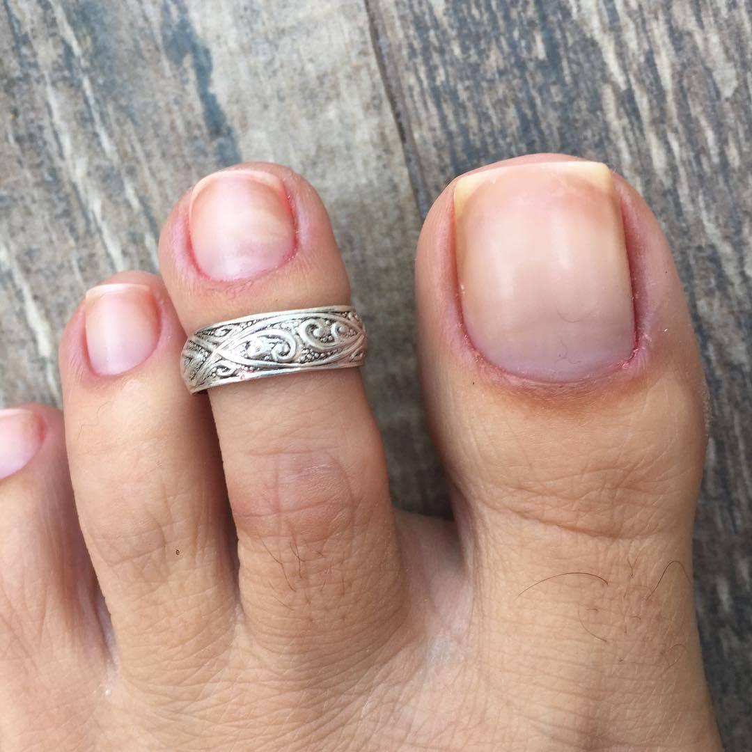 Karin Klemp's toes