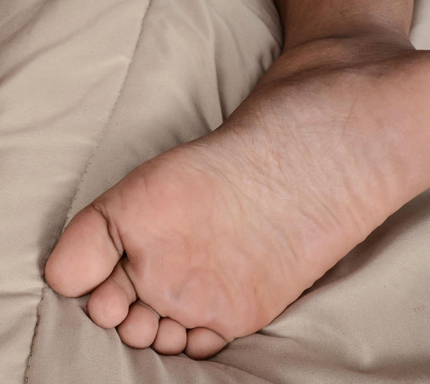 Chanell Heart's foot