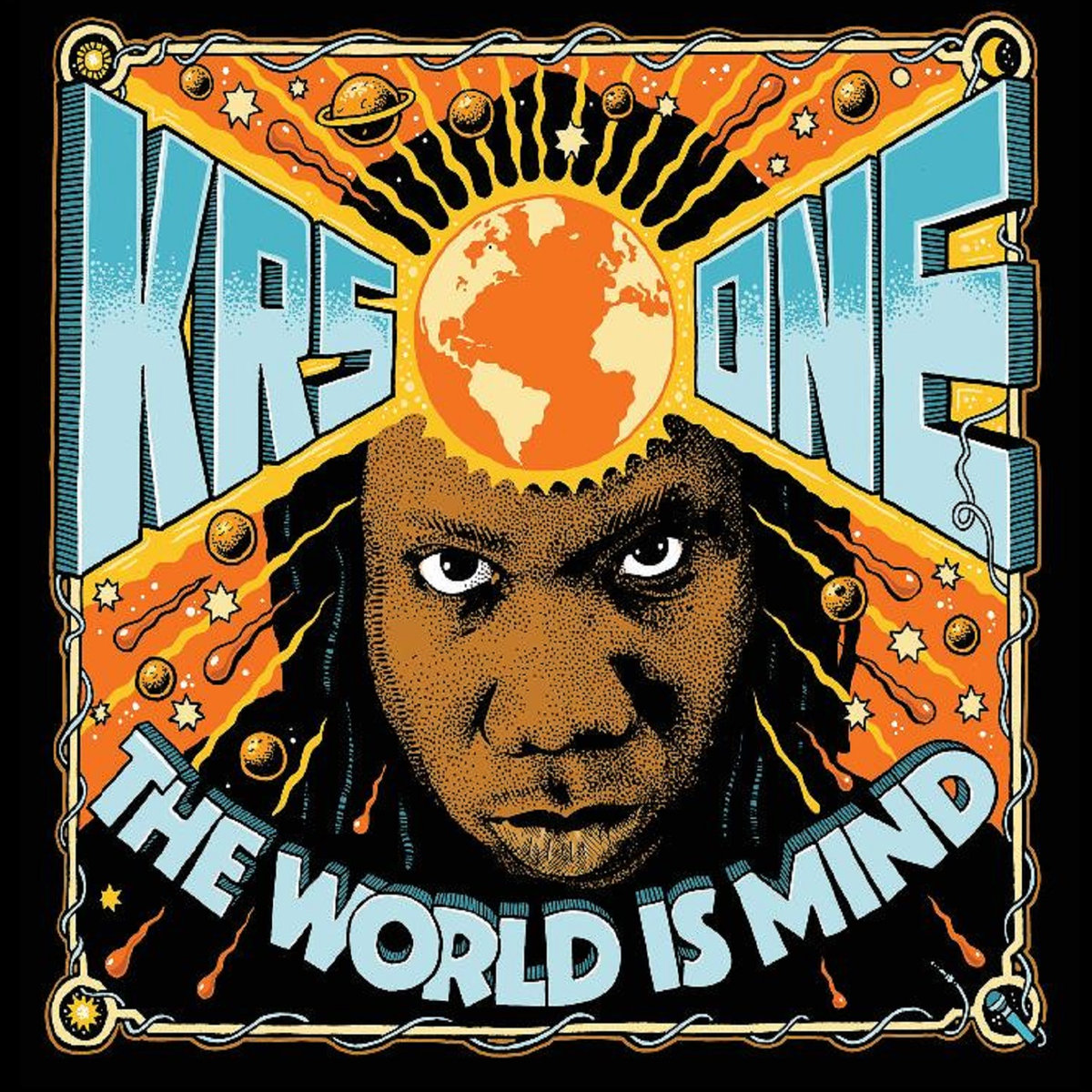 audio review : The World Is Mind ( album ) ... KRS-One