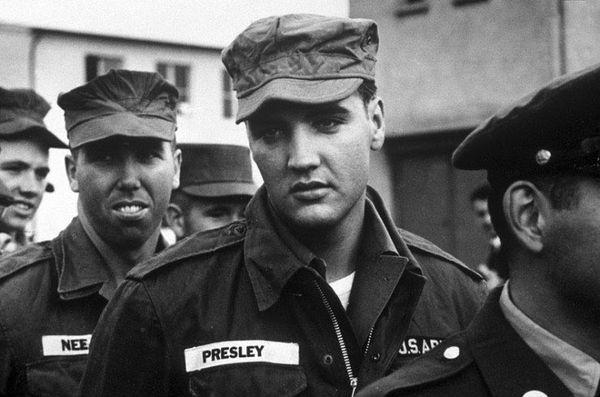 Elvis Presley in the US Army