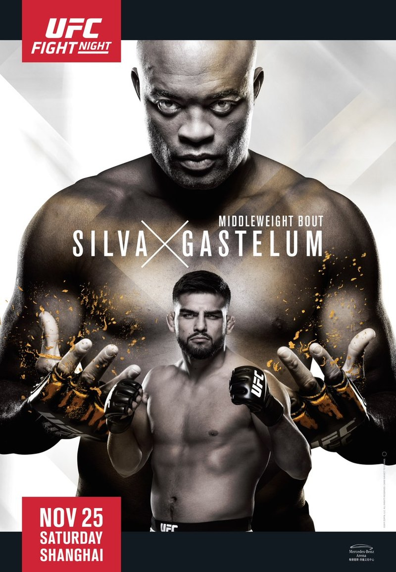 promo : Anderson Silva versus Kelvin Gastelum at UFC Fight Night