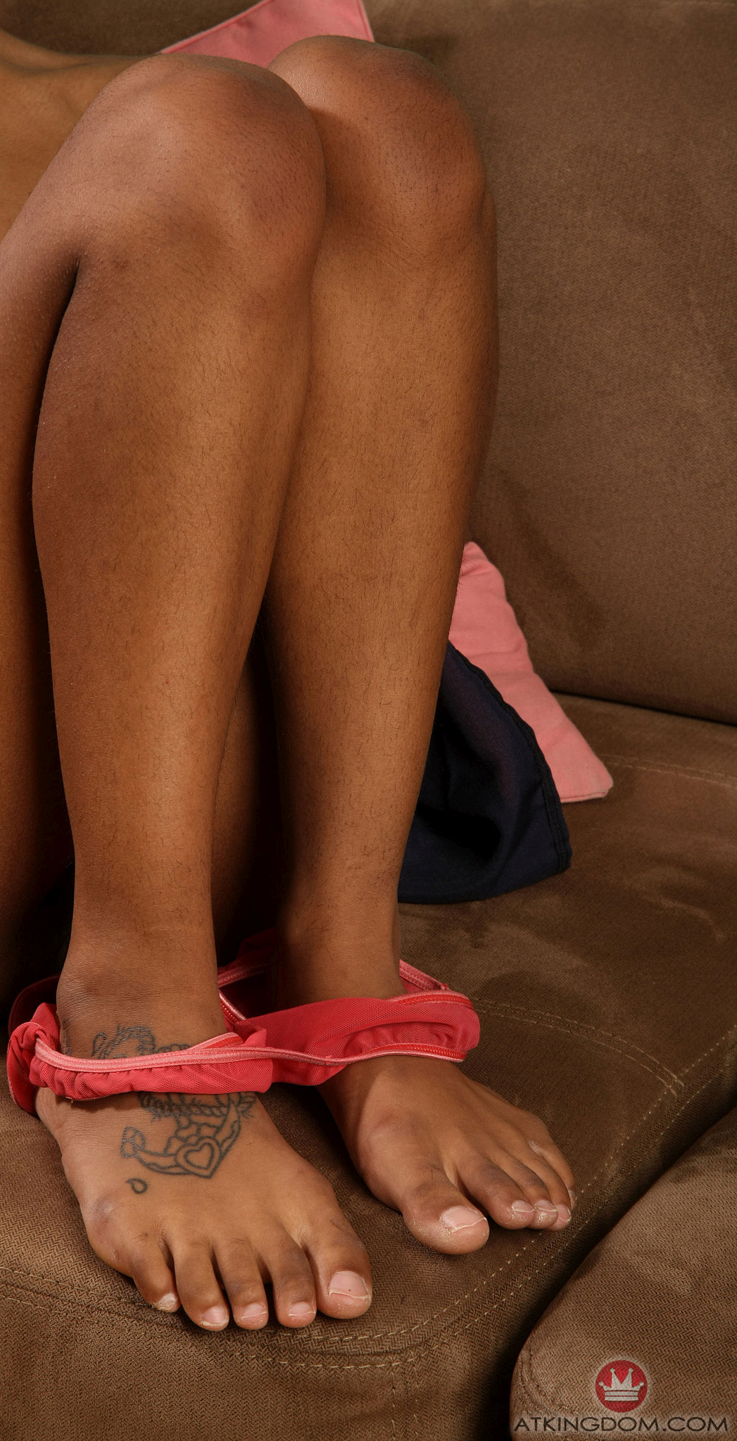 a girl named Yvette showing her legs and feet