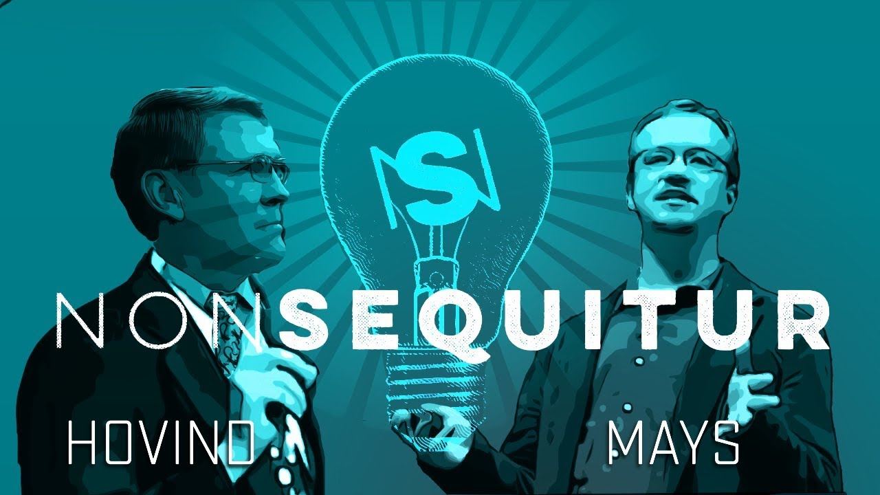 NonSequitur : Kent Hovind and Dr Herman Mays debating on evolution versus creation
