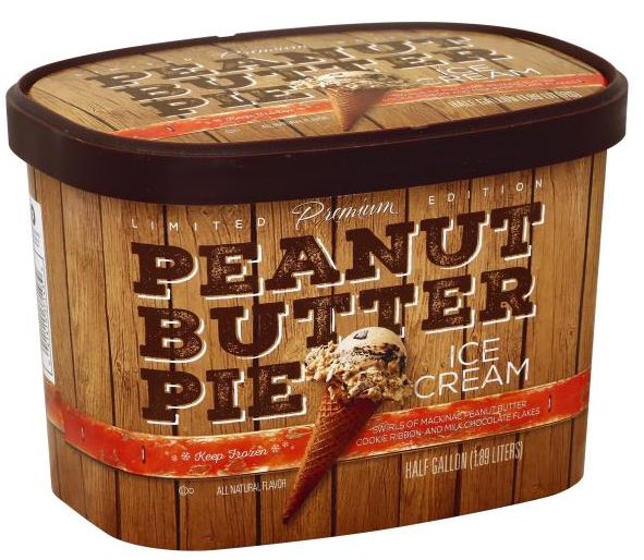 Publix Premium Peanut Butter Pie Ice Cream