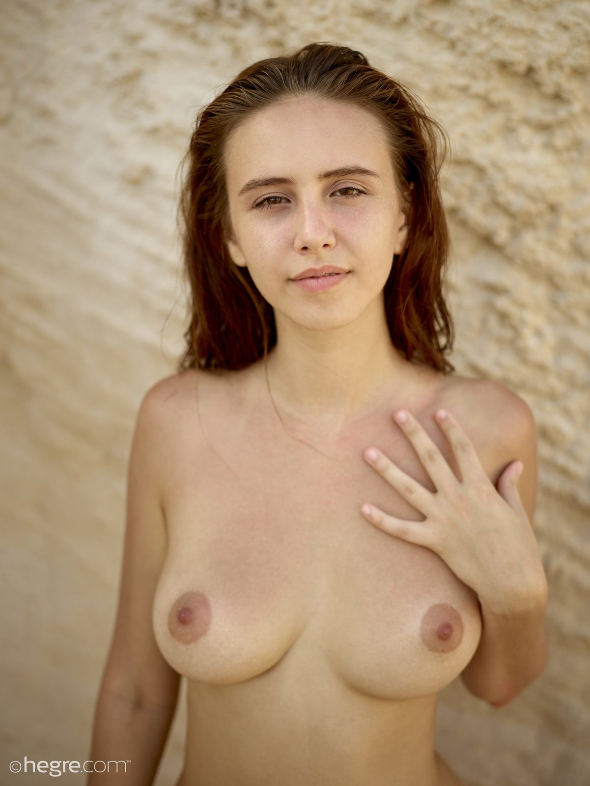 a girl named Alisa posing nude