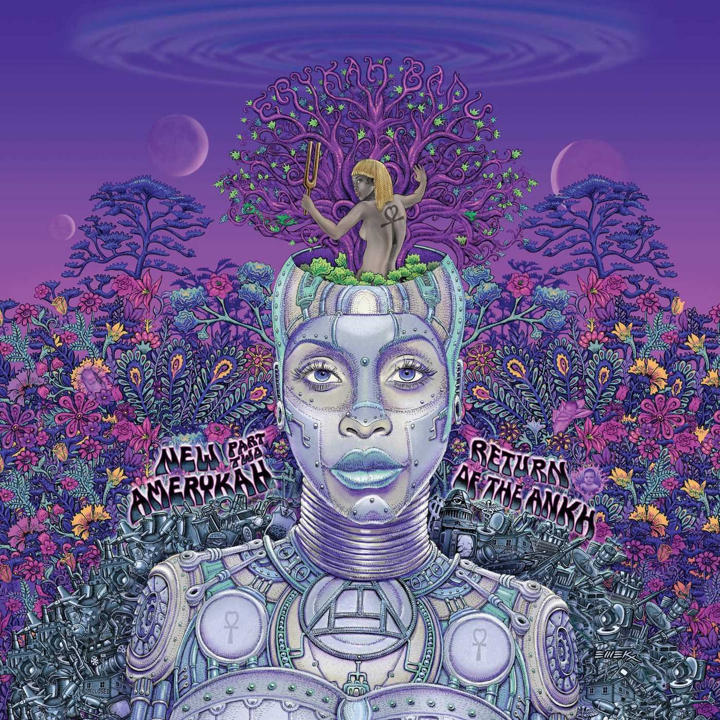 audio review : New Amerykah : Part Two [ Return Of The Ankh ] ... Erykah Badu