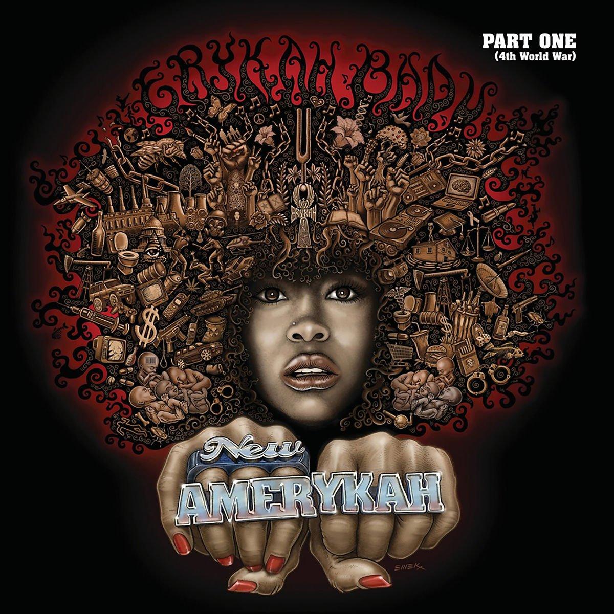 audio review : New Amerykah : Part One [ 4th World War ] ( album ) ... Erykah Badu