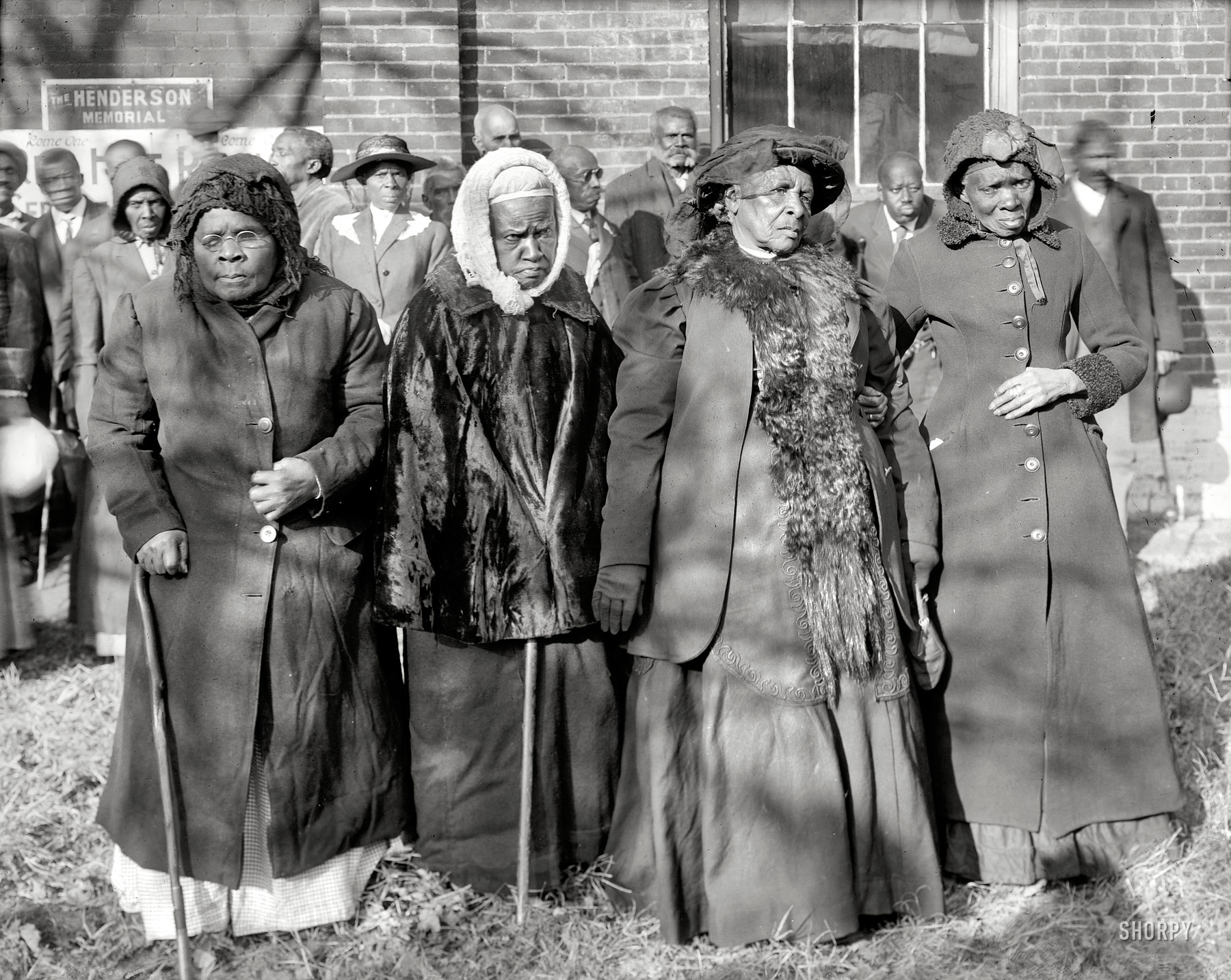black women posing at a Convention Of Former Slaves in Washington DC