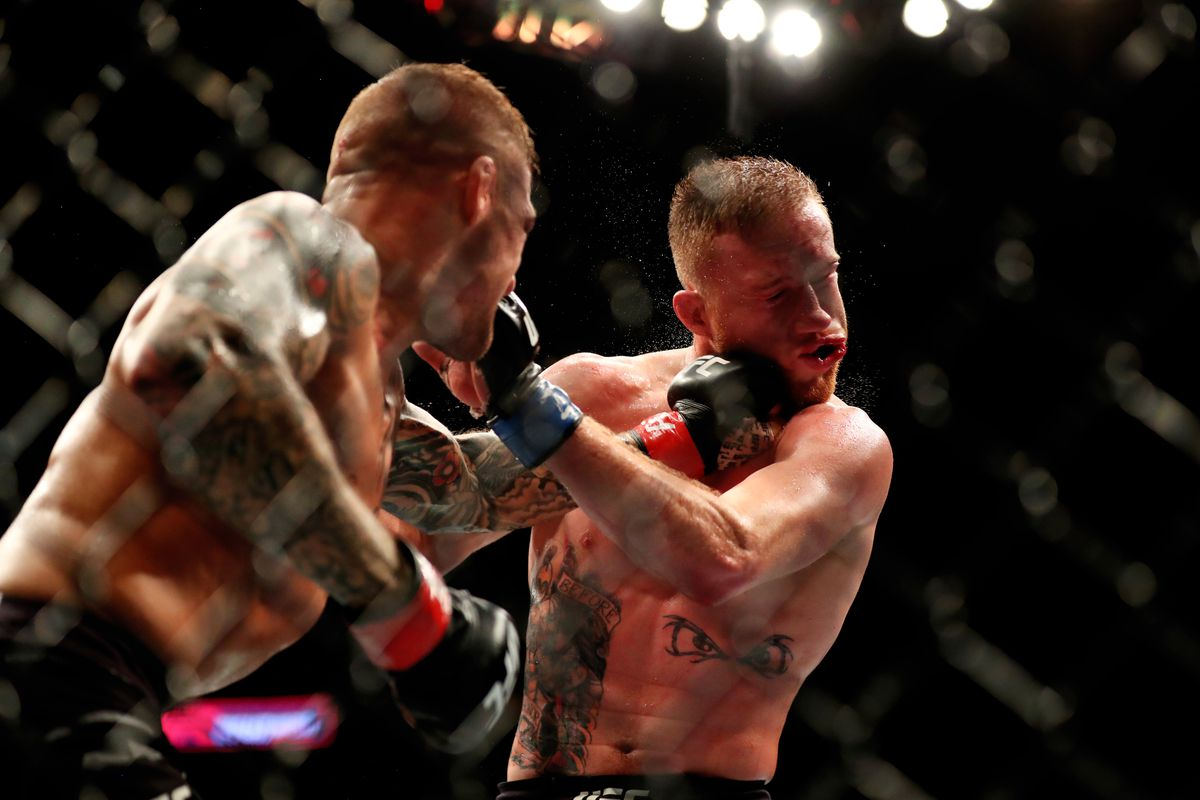 video review : Dustin Poirier versus Justin Gaethje at UFC Fight Night