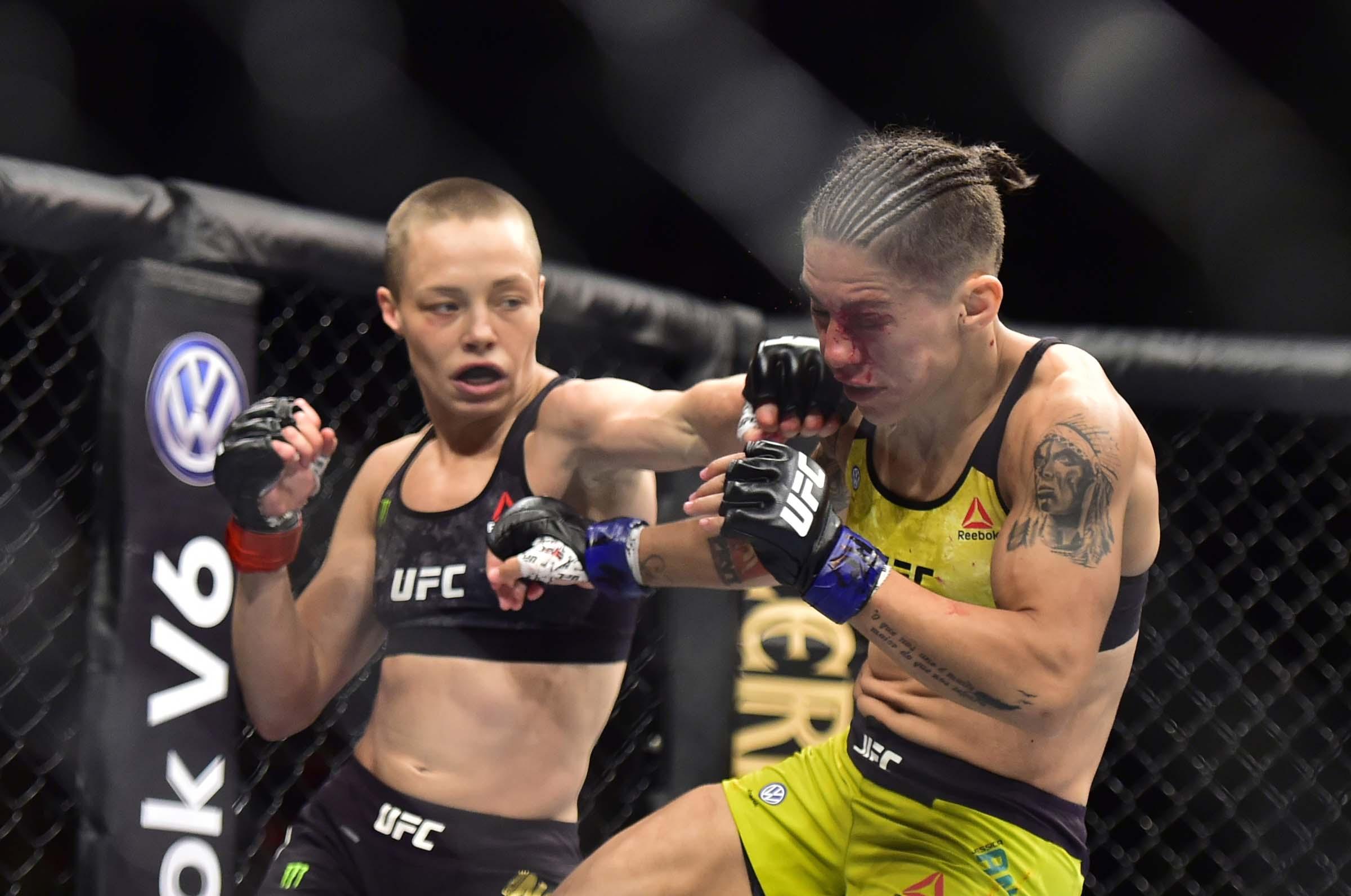 video review : Rose Namajunas versus Jessica Andrade at UFC 237