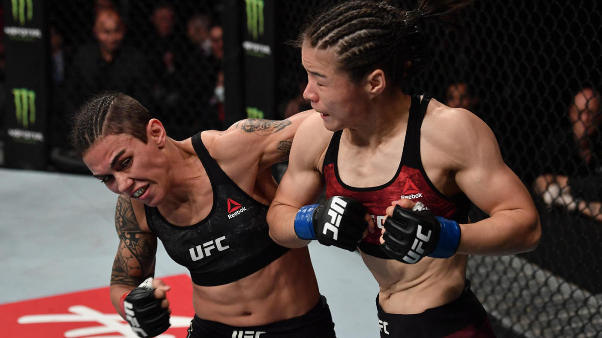video review : Jéssica Andrade versus Zhang Weili at UFC Fight Night