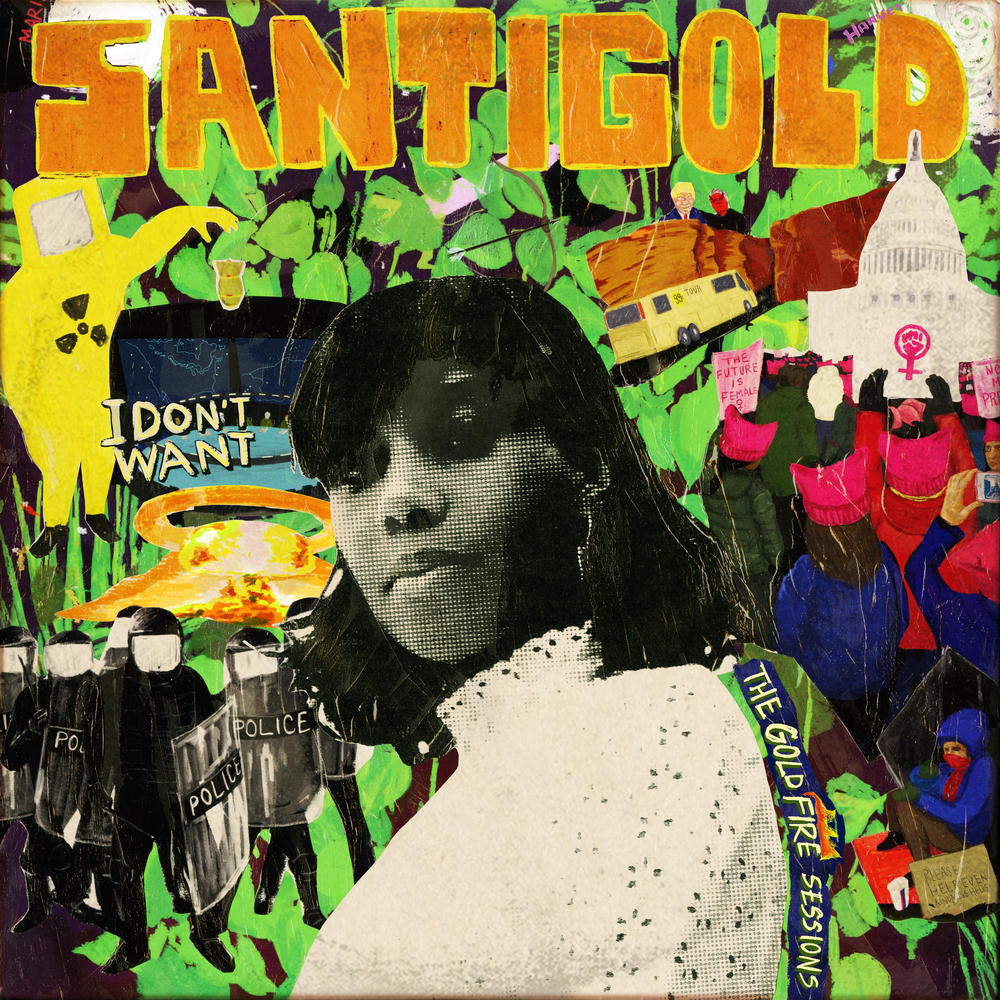 audio review : I Don't Want [ The Gold Fire Sessions ] ( mixtape ) ... Santigold