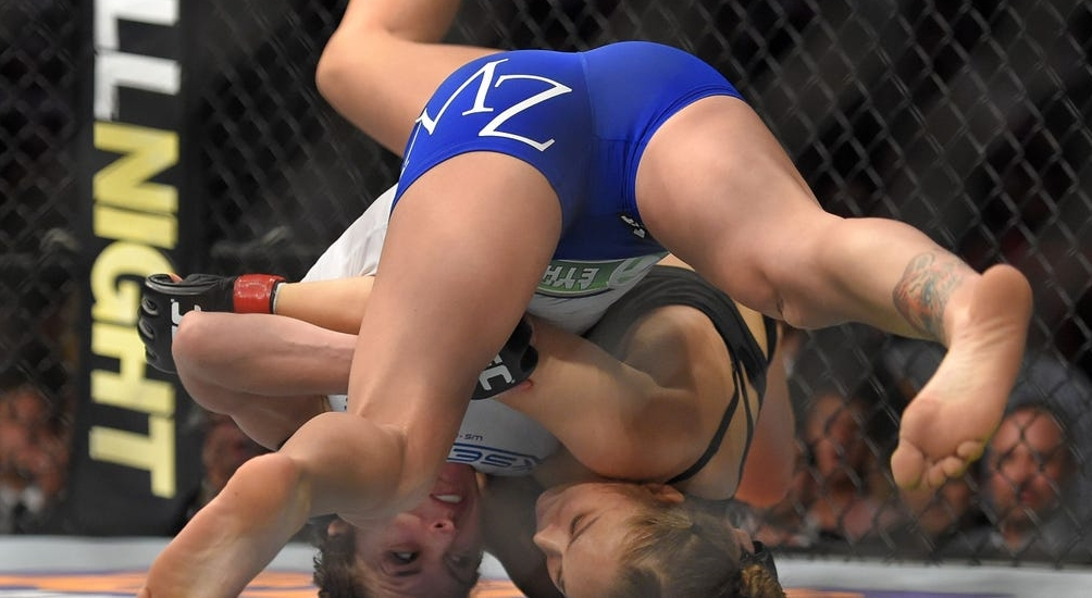 video review : Ronda Rousey versus Cat Zingano at UFC 184