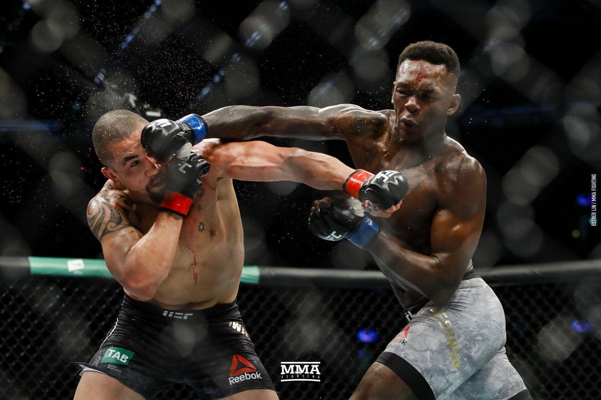 video review : Robert Whittaker versus Israel Adesanya at UFC 243