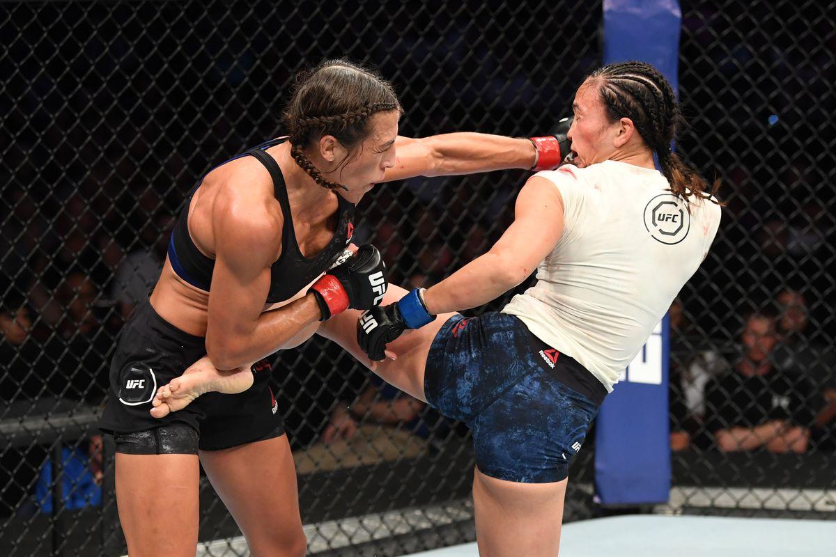 video review : Joanna Jędrzejczyk versus Michelle Waterson at UFC Fight Night