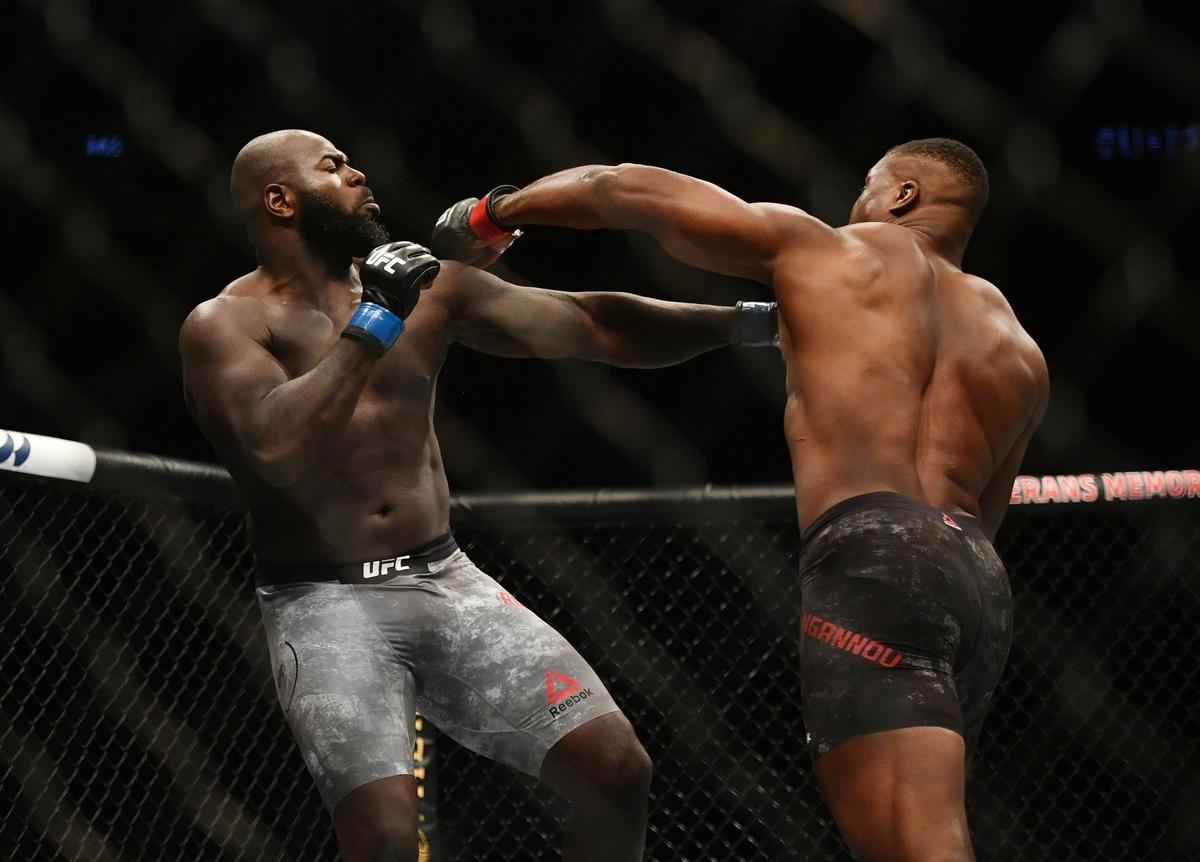 video review : Francis Ngannou versus Jairzinho Rozenstruik at UFC 249