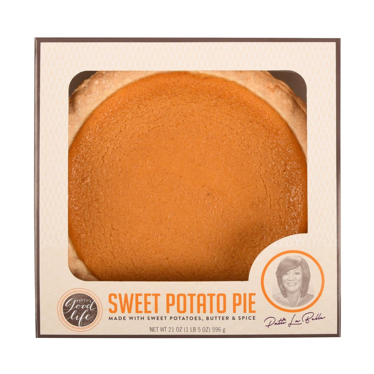 Patti's Good Life Sweet Potato Pie