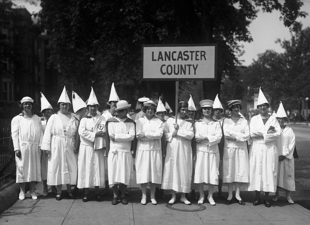 Ku Klux Klan members from Lancaster County