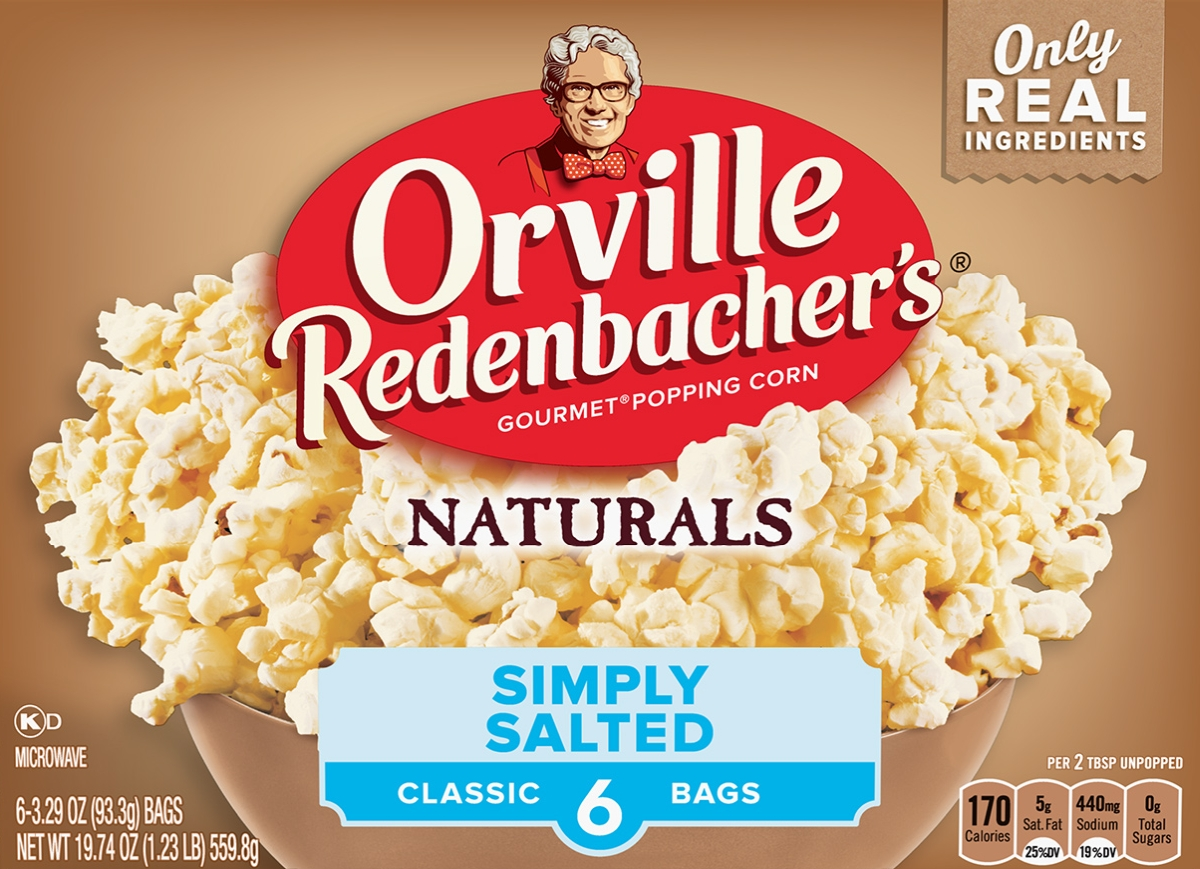 Orville Redenbacher's Gourmet Popping Corn : Naturals [ Simply Salted ]