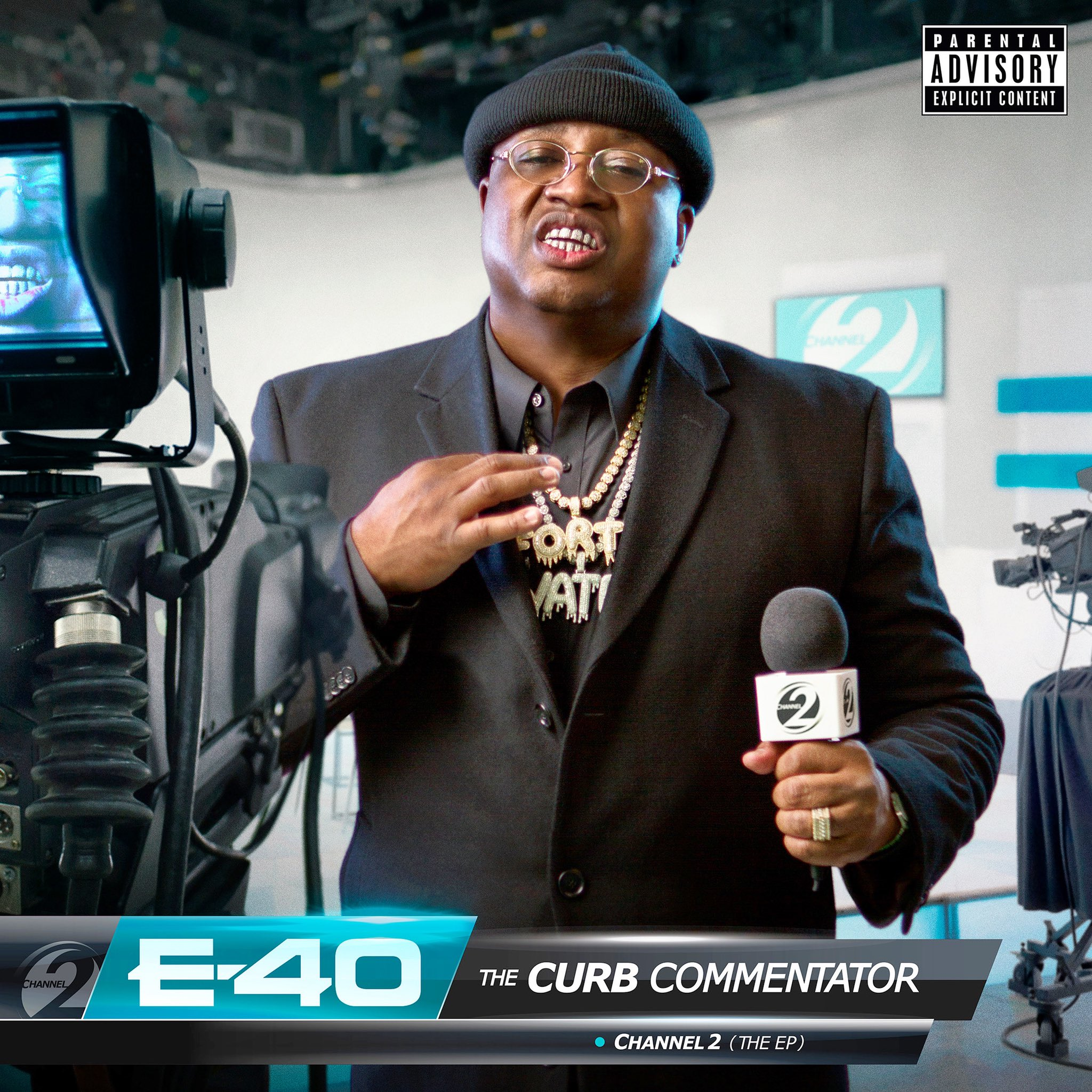 audio review : The Curb Commentator [ Channel 2 ] ( EP ) ... E-40