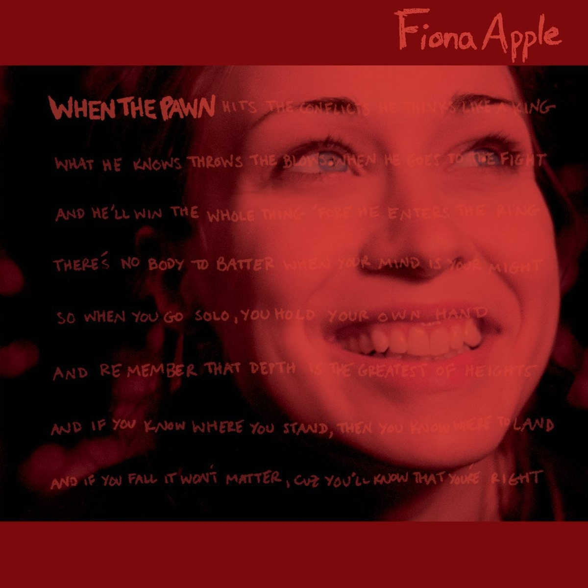 audio review : When The Pawn ( album ) ... Fiona Apple