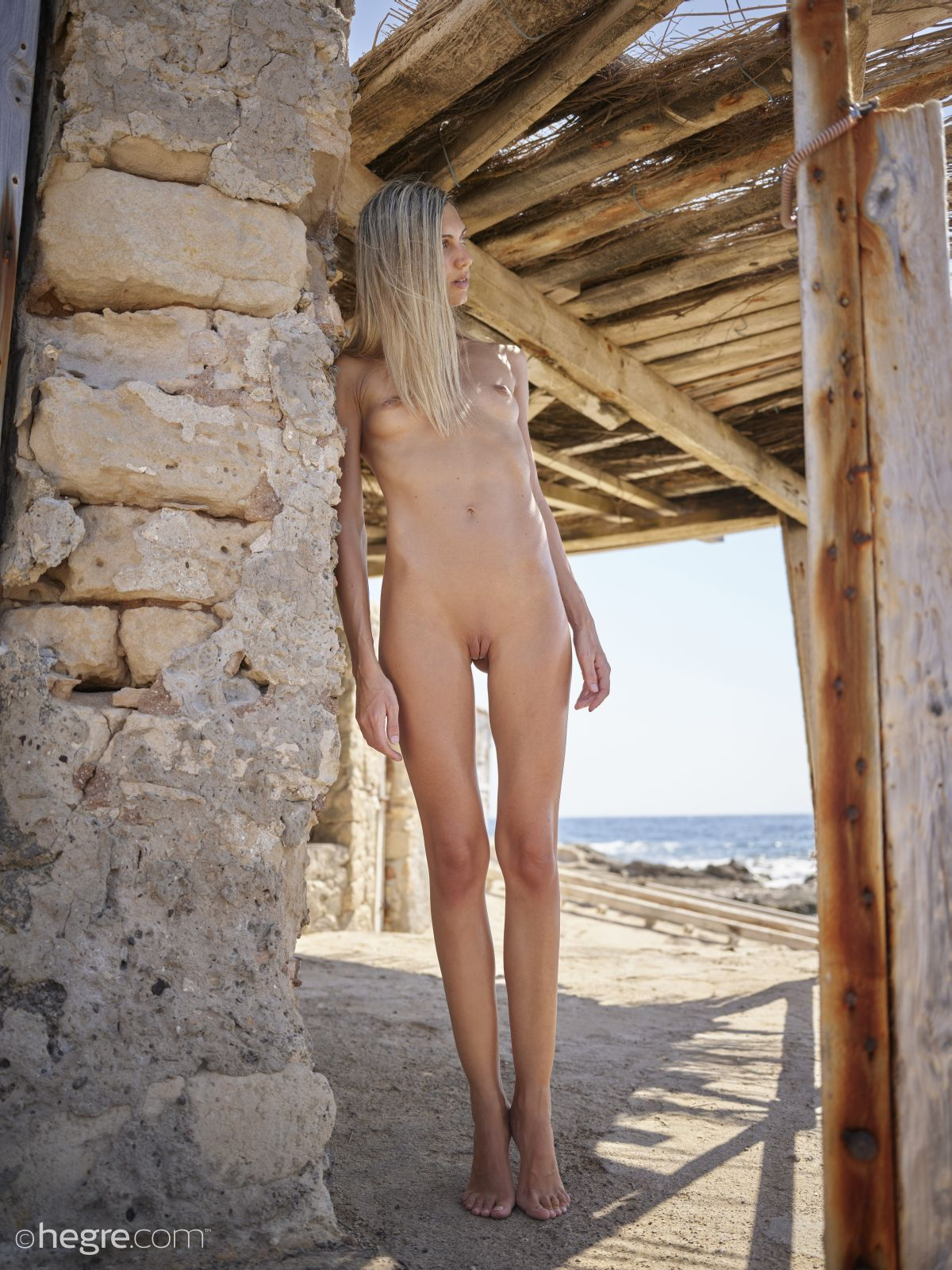 an Italian girl named Francy posing nude